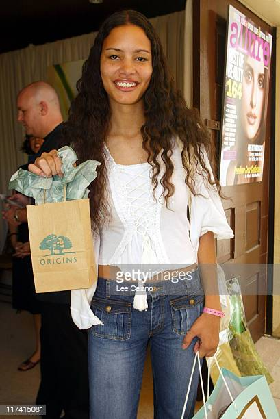 Nina Mansker at Origins during The Silver Spoon Beauty Buffet Sponsored By Allure Day Two at Private Residence in Los Angeles California United...