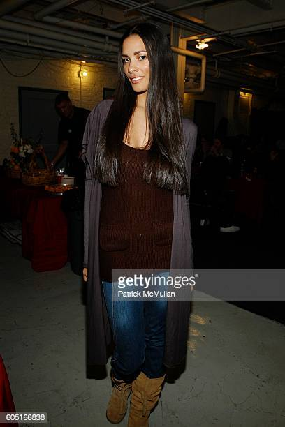 Nina Mansker attends Macy's Glamorama Backstage at Chicago Theater on September 29 2006 in Chicago IL