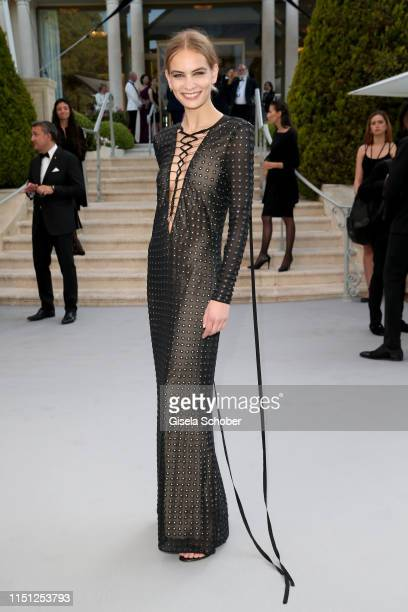 Nina Marker attends the amfAR Cannes Gala 2019 at Hotel du CapEdenRoc on May 23 2019 in Cap d'Antibes France