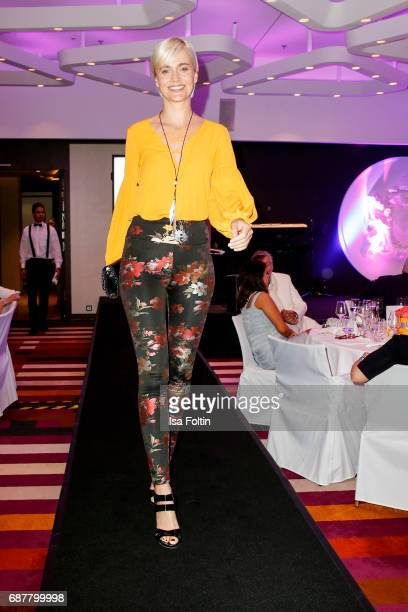 Nina Meise walks the runway during the Kempinski Fashion Dinner on May 23 2017 in Munich Germany