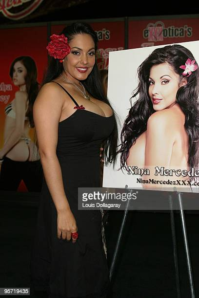 Nina Mercedez attends day 3 of 2009 Exxxotica New York at the New Jersey Convention and Exposition Center on September 27 2009 in Edison New Jersey