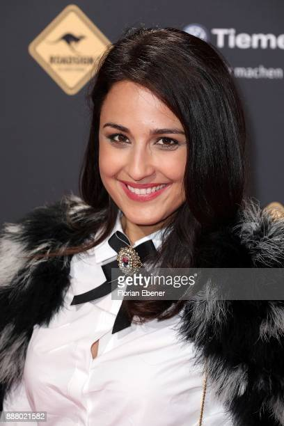 Nina Moghaddam attends the 1Live Krone at Jahrhunderthalle on December 7 2017 in Bochum Germany