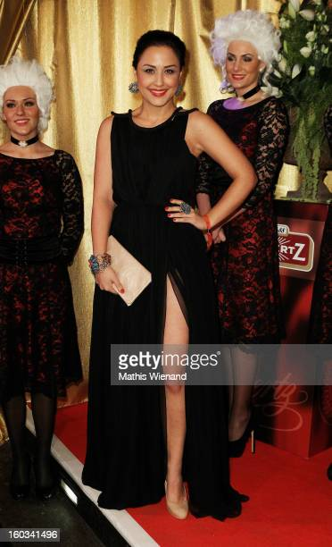 Nina Moghaddam attends the 'Lambertz Monday Night' at 'Alter Wartesaal' on January 28 2013 in Cologne Germany