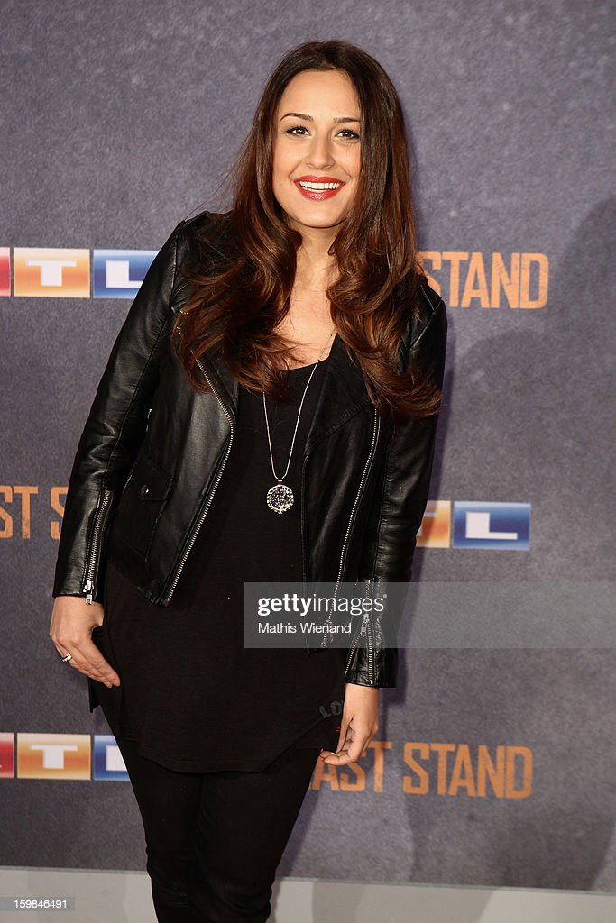Nina Moghaddam attends the 'The Last Stand' Cologne Premiere at Astor Film Lounge on January 21, 2013 in Cologne, Germany.