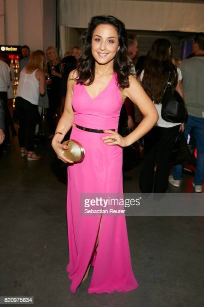 Nina Moghaddam attends the Unique after party during Platform Fashion July 2017 at Areal Boehler on July 22 2017 in Duesseldorf Germany