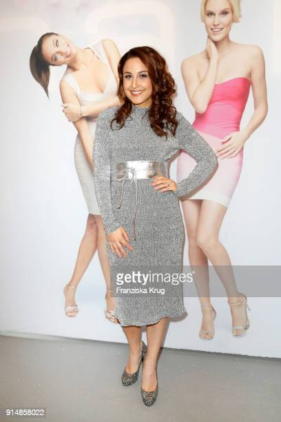 Nina Moghaddam during the presentation of the new hairfree campaign on February 6 2018 in Darmstadt Germany
