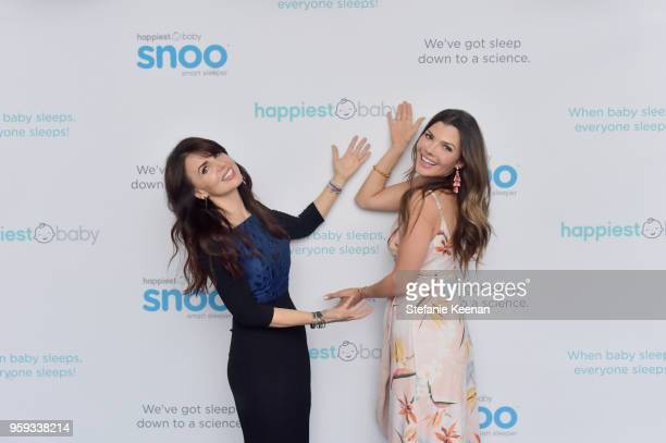 Nina Montee Karp and Ali Landry attend Jessica Biel and Dr Harvey Karp Celebrate Moms Dads and their Favorite Helper the SNOO at Au Fudge Los Angeles...