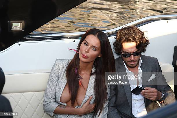 Nina Moric and Daniele Santoianni are seen during the 63rd Annual International Cannes Film Festival on May 18 2010 in Cannes France