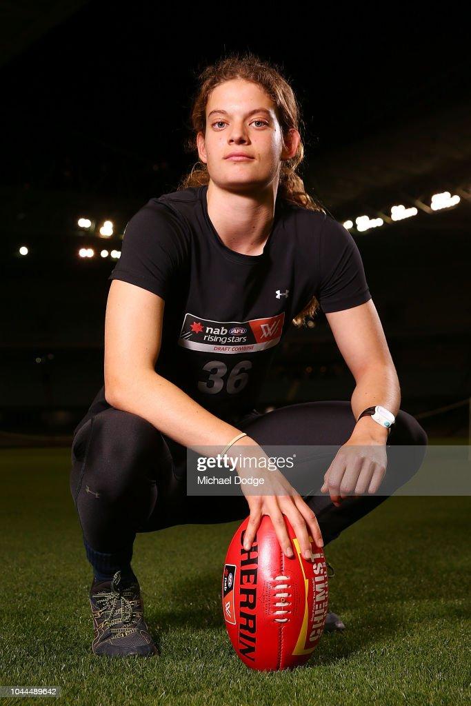 AFL Women's Draft Combine - Evening Session : News Photo