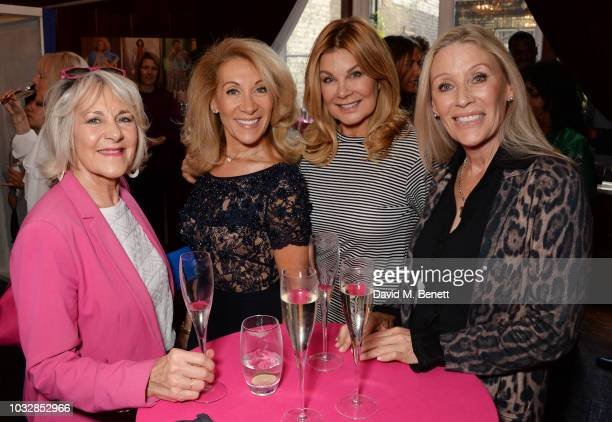 Nina Myskow Aliza Reger Jilly Johnson and Angie Best attend attends the JDW Midster Live AW18 Catwalk Show and party presented by JD Williams during...
