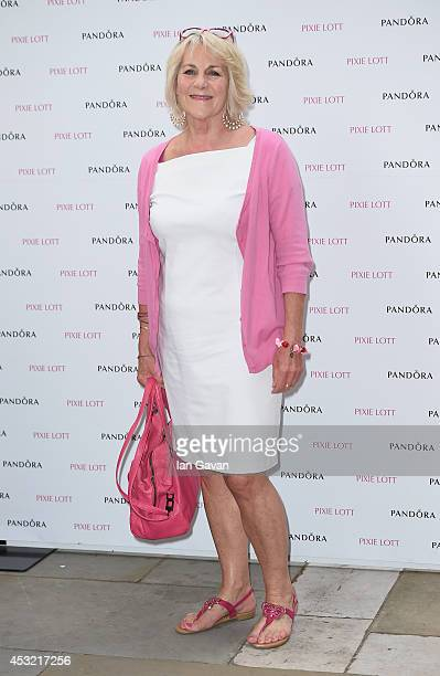 Nina Myskow attends Pandora presents Pixie Lott album launch party at The Langham Hotel on August 5 2014 in London England