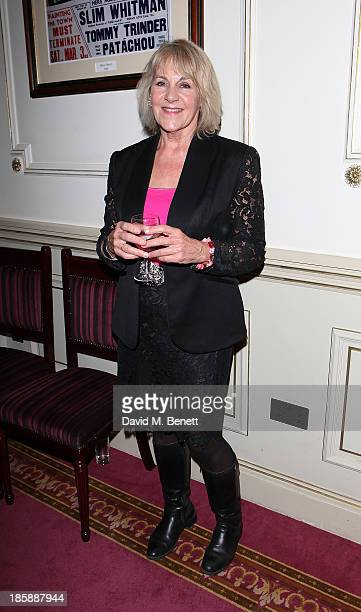Nina Myskow attends the opening night performance of The Nutcracker On Ice at the London Palladium on October 25 2013 in London England