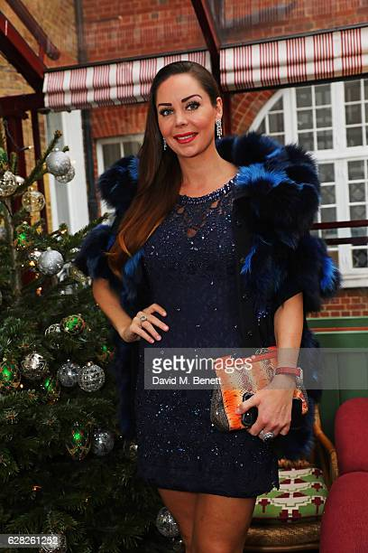 Nina Naustdal attends a lunch for Emilio De La Morena and Bianka Hellmich in aid of Save The Children at Mark's Club on December 7 2016 in London...