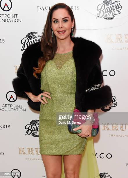 Nina Naustdal attends the Artpoint Foundation gala screening of The Legend About Valentina a specially commissioned short film on the life of Dr...