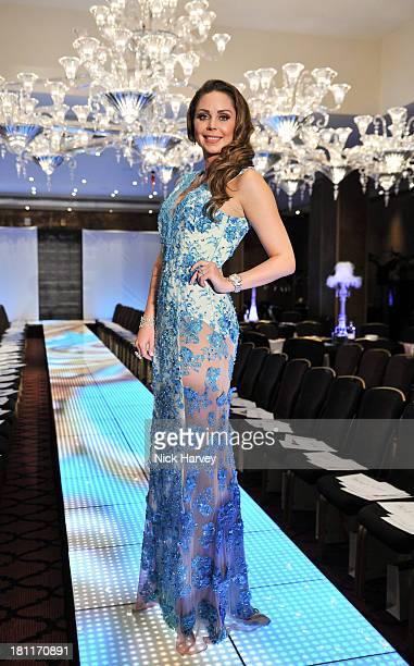 Nina Naustdal attends the Nina Naustdal Runway show following London Fashion Fashion Week SS14 at The Mayfair Hotel on September 19 2013 in London...