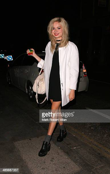 Nina Nesbitt at Steam and Rye bar and restaurant on April 19 2014 in London England