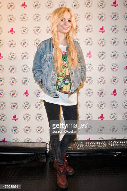 Nina Nesbitt attends NCS YES live at Brixton Academy on March 1 2014 in London England
