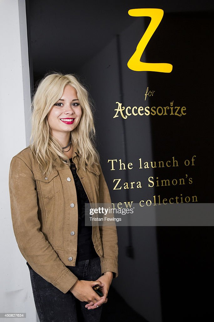 Launch Event of the Zara Simon 'Z' Collection for Accessorize : News Photo