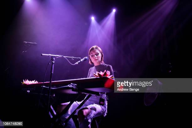 Nina Nesbitt performs at O2 Academy Leeds on November 07, 2018 in Leeds, England.