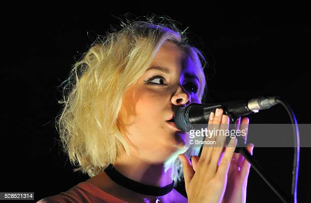 Nina Nesbitt performs on stage at Scala on May 5 2016 in London England