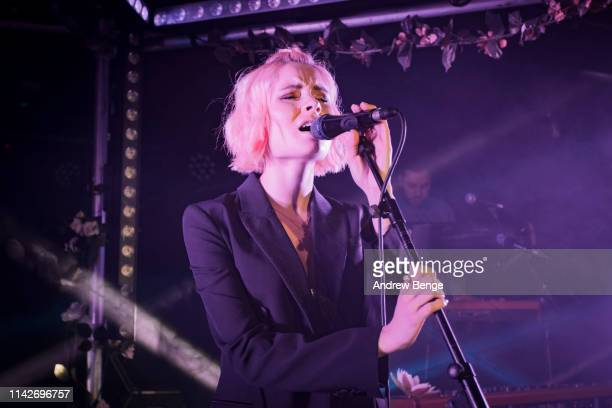 Nina Nesbitt performs onstage at The Wardrobe on April 14 2019 in Leeds England