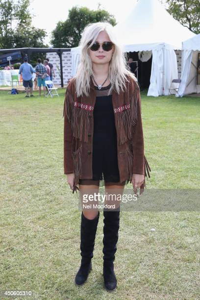 Nina Nesbitt seen during The Isle of Wight Festival at Seaclose Park on June 14 2014 in Newport Isle of Wight