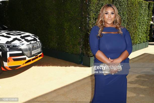 Nina Parker attends Audi at The 70th Annual Emmy Awards at Microsoft Theater on September 17 2018 in Los Angeles California