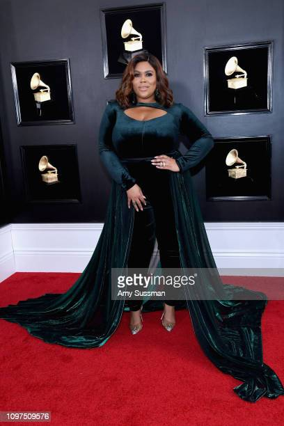 Nina Parker attends the 61st Annual GRAMMY Awards at Staples Center on February 10, 2019 in Los Angeles, California.