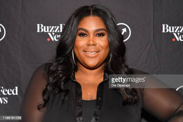 Nina Parker visits BuzzFeed's AM to DM on August 20 2019 in New York City