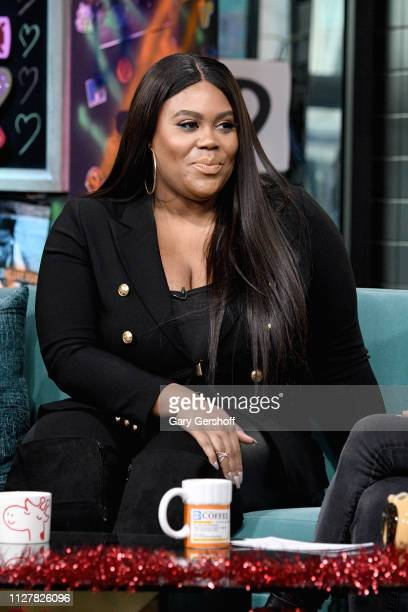 Nina Parker visits the Build Brunch to discuss 'DATING #NOFILTER' and the E show 'Nightly Pop' at Build Studio on February 06 2019 in New York City