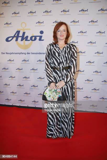 Nina Petri attends the 'Ahoi 2018 The special kind of New Year's Reception on January 13 2018 in Hamburg Germany