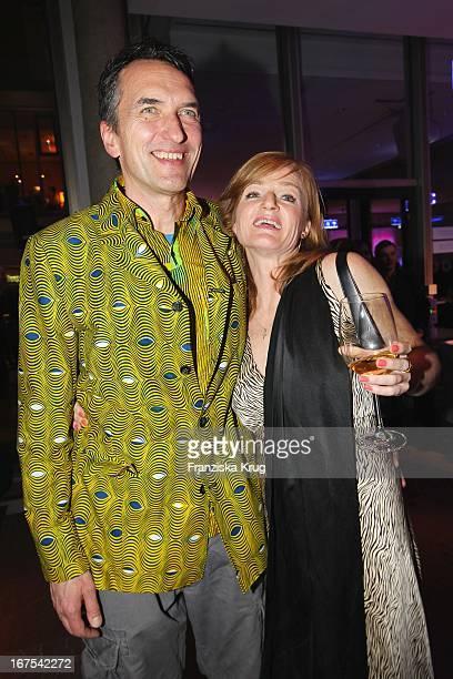 Nina Petri Und Ihr Neuer Freund Volker März Bei Der Afterparty Zur Eröffnungsgala Der 60 Berlinale Im Moskau In Berlin