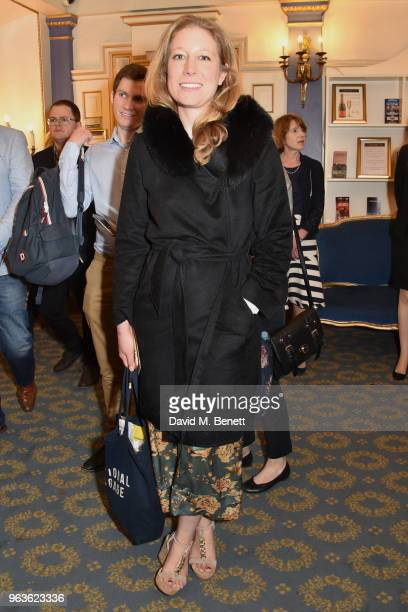 Nina Raine arrives at the press night performance of 'Consent' at the Harold Pinter Theatre on May 29 2018 in London England