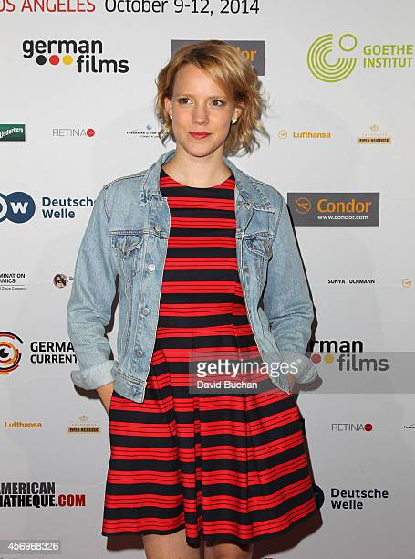 Nina Rausch attends the German Currents 8th Annual Festival of German Film Opening night gala screening of Beloved Sisters at the Egyptian Theatre on...