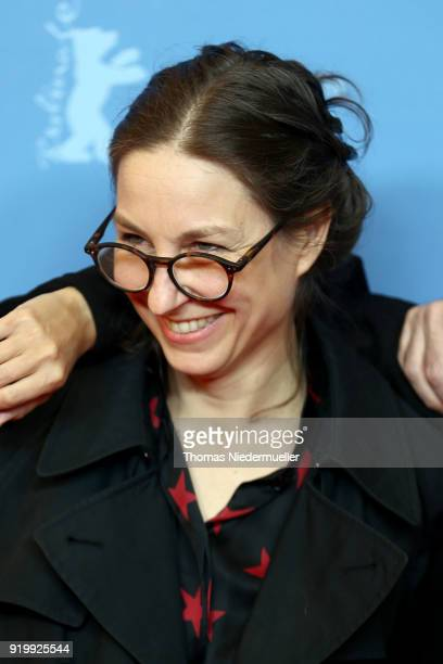 Nina Rhode attends the 'Shut Up and Play the Piano' premiere during the 68th Berlinale International Film Festival Berlin at Kino International on...