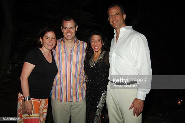 Nina Richter John Richter Lisa Anastos and Charles Manger attend Moroccan Birthday for Tatiana Platt at Private Residence on May 27 2006 in...