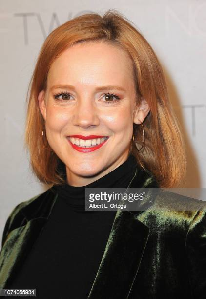Nina Rouch arrives for the premiere of 'Heart Baby' held at The Ahrya Fine Arts Laemmle Theater on November 23 2018 in Beverly Hills California