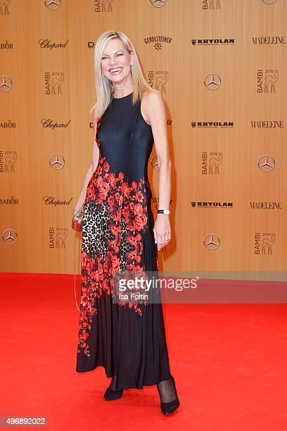 Nina Ruge attends the Bambi Awards 2015 at Stage Theater on November 12 2015 in Berlin Germany
