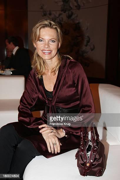 "Nina Ruge Bei Der Montblanc Kulturstiftung Party Im ""The Charles Hotel"" In München ."