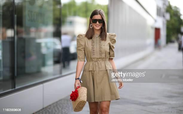 Nina Schwichtenberg on July 01, 2019 in Berlin, Germany.