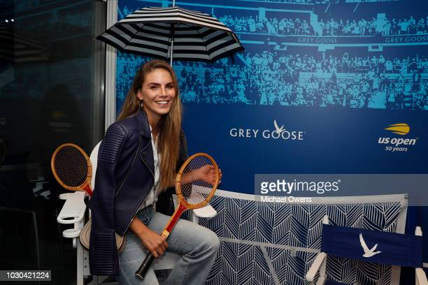 Nina Senicar at the Grey Goose Suite on Day Thirteen of the 2018 US Open at the Arthur Ashe Stadium on September 9 2018 in the Flushing neighborhood...