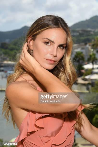 Nina Senicar attends 2018 Ischia Global Film Music Fest on July 17 2018 in Ischia Italy