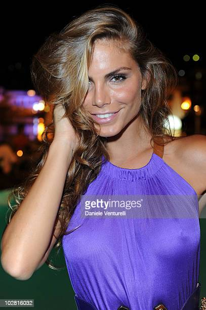 Nina Senicar attends day one of the Ischia Global Film and Music Festival on July 11 2010 in Ischia Italy