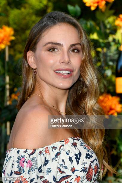 Nina Senicar attends the 10th Annual Veuve Clicquot Polo Classic Los Angeles at Will Rogers State Historic Park on October 05 2019 in Pacific...
