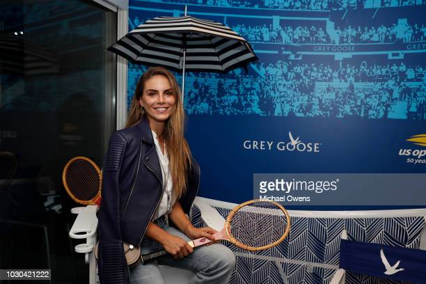 Nina Senicar attends the Grey Goose Suite on Day Fourteen of the 2018 US Open at the Arthur Ashe Stadium on September 9 2018 in the Flushing...