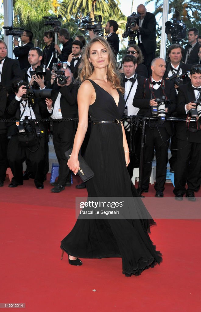 Nina Senicar attends the 'Killing Them Softly' Premiere during 65th Annual Cannes Film Festival at Palais des Festivals on May 22, 2012 in Cannes, France.