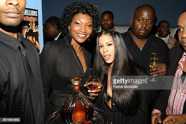 Nina Shay and Heather Hunter attend Wendy Williams CD Launch at Quo cohosted by Courvoisier Ambassadrice Nina Shay New York City at Quo on June 22...