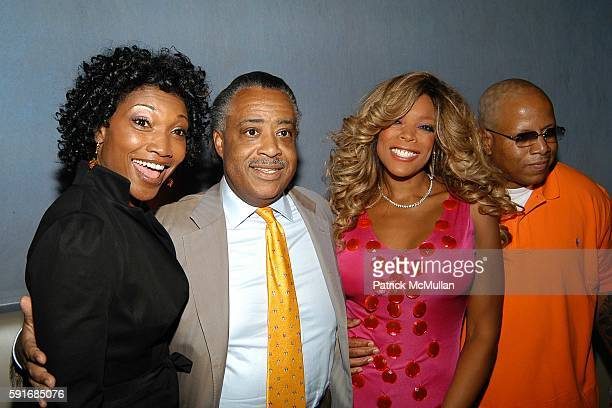 Nina Shay Reverend Al Sharpton Wendy Williams and Kevin Hunter attend Wendy Williams CD Launch at Quo cohosted by Courvoisier Ambassadrice Nina Shay...