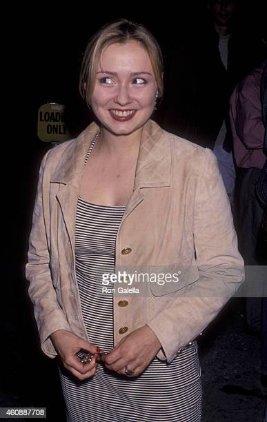 Nina Siemaszko attends Naked at the Coast Launch Party on June 10 1993 in Hollywood California