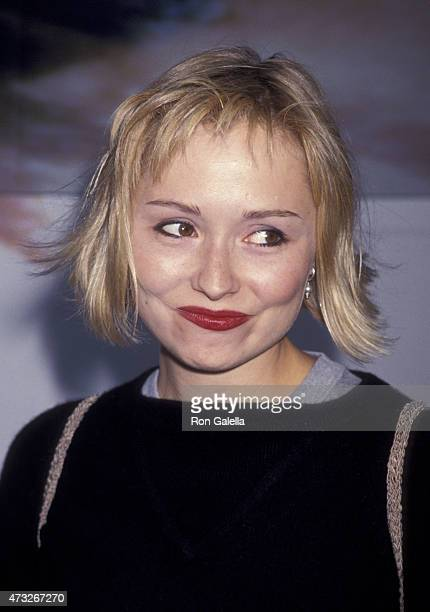 Nina Siemaszko attends the premiere of Adventures of Priscilla Queen of The Desert on August 9 1994 at the Cinerama Dome Theater in Hollywood...